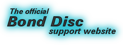 Bond Disc support website logo